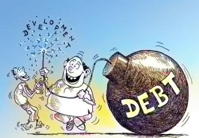 WTE3 Column #40 Illustration -- Debt Bomb