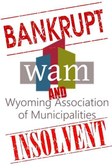 WTE3 Column #64 Illustration -- WAM -- Bankrupt and Insolvent