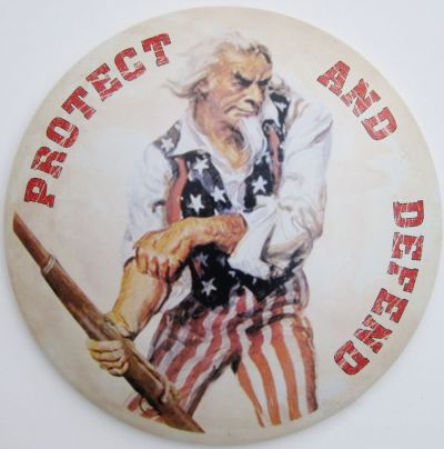 WTE3 Column #74 Illustration -- Uncle Sam Protect and Defend