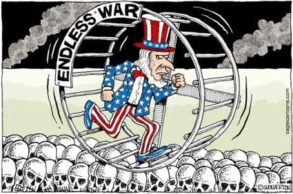 WTE3 Column #75 Illustration -- Endless War
