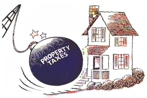 WTE3 Column #83 Illustration -- Property Tax Wrecking Ball