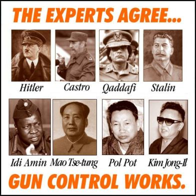 WTE3 Column #96 Illustration -- The Experts Agree ... Gun Control Works!
