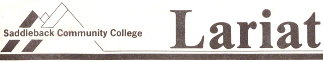 Logo -- Saddleback College Lariat