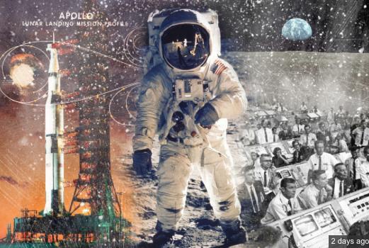 TTP Column #5 Illustration -- Apollo 11 Montage